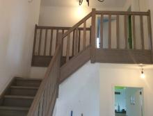Bestaande beukentrap vervangen door eiken trap